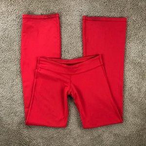 Lululemon Groove Red Bootcut Flare Leggings 8 Tall